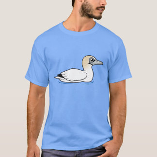 Birdorable Swimming Northern Gannet T-Shirt