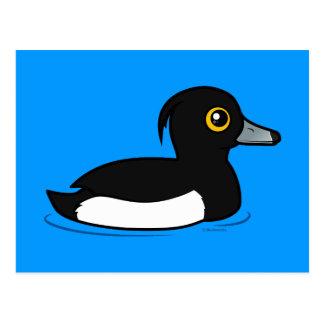 Birdorable Tufted Duck Postcard