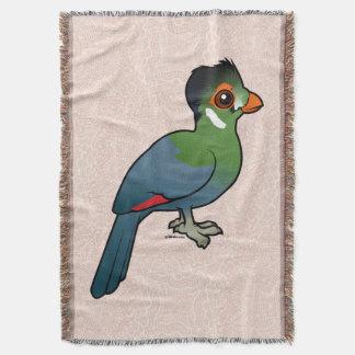 Birdorable White-cheeked Turaco