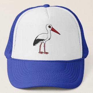 Birdorable White Stork Trucker Hat