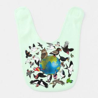 Birdorables Around the World Bib