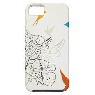 Birds a flower2 iPhone 5 covers
