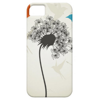 Birds a flower3 barely there iPhone 5 case
