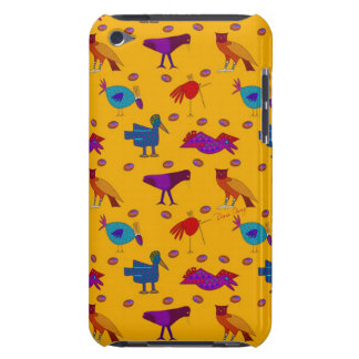 Birds - Abstract Purple Hawks & Blue Chickens iPod Touch Case