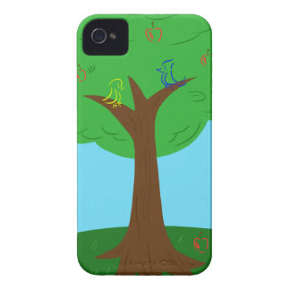 Birds and Apples Case-Mate iPhone 4 Cases