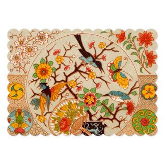 Birds and Butterflies Invitation