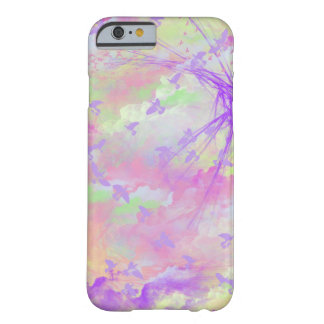 Birds and clouds barely there iPhone 6 case