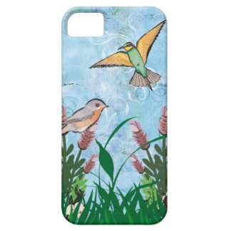 Birds And Floral iphone 5 case
