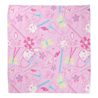 Birds and flowers bandana