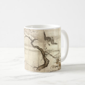 Birds and Flowers by Sesshū Tōyō Coffee Mug