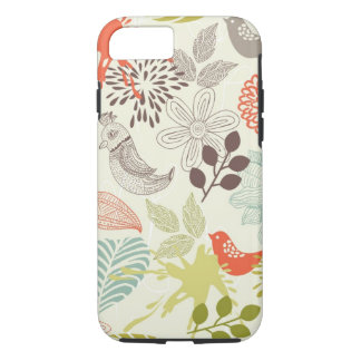 birds and flowers iPhone 7 case