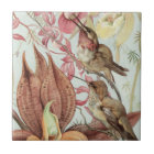 Birds and Flowers Tile