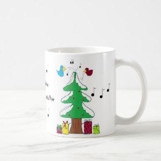 Birds and Musical Notes Coffee Mug