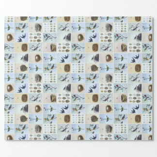 Birds and Nests Wrapping Paper