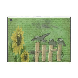 Birds and Sunflowers iPad Mini Cover