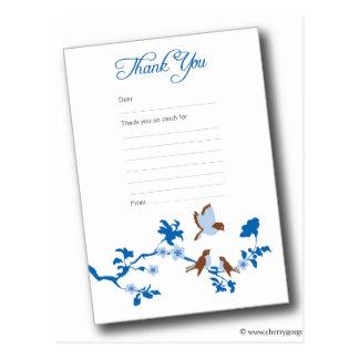 birds-baby-thank-you-notes-blue postcard