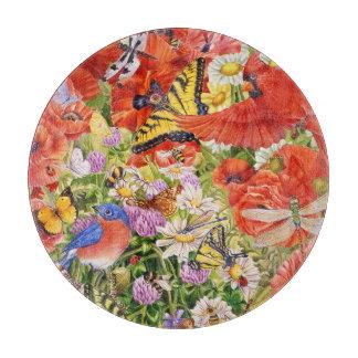 Birds, Butterflies and Bees Cutting Board