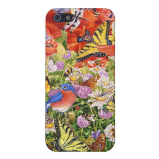 Birds,Butterflies iPhone 5/5S Matte Finish Case iPhone 5/5S Cover