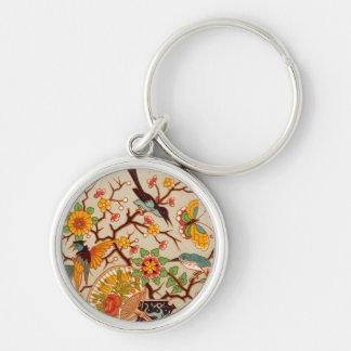Birds & Butterflies Keychain