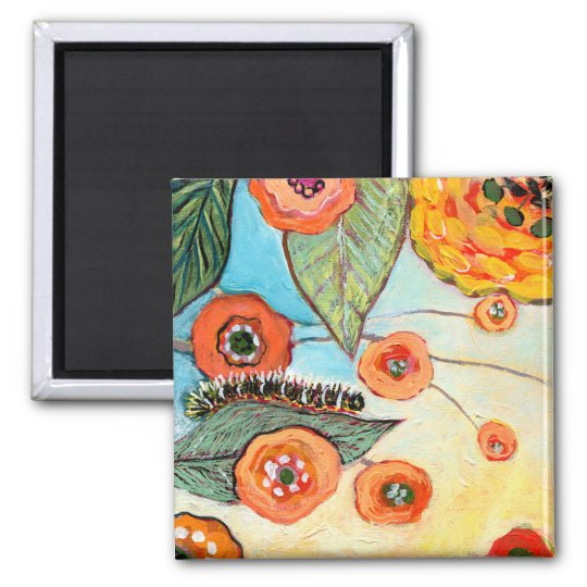 Birds & Butterflies No 1 Magnet