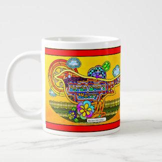 Birds Don't Worry Jumbo Coffee Mug