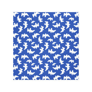 Birds Drawing Pattern Design Canvas Print
