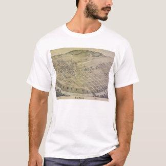Bird's Eye View El Paso El Paso County Texas 1886 T-Shirt