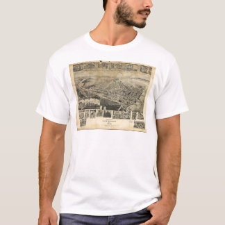 Bird's Eye View of Chestertown, Maryland (1907) T-Shirt
