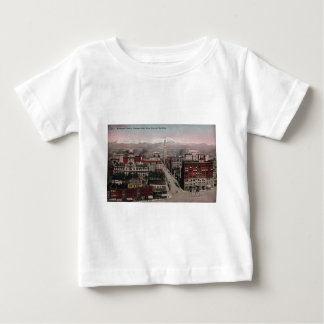 Bird's Eye View of Denver, CO in Early 1900's Baby T-Shirt