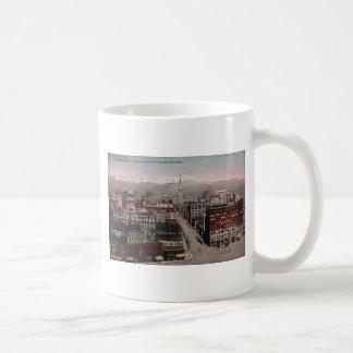 Bird's Eye View of Denver, CO in Early 1900's Coffee Mug