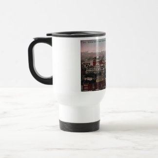 Bird's Eye View of Denver, CO in Early 1900's Stainless Steel Travel Mug