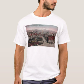 Bird's Eye View of Denver, CO in Early 1900's T-Shirt