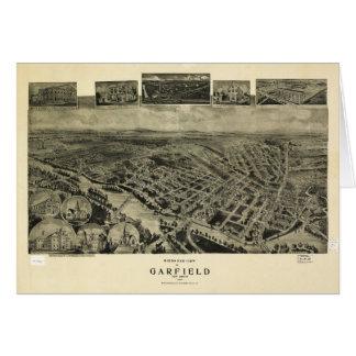 Birds eye view of Garfield, New Jersey (1909) Card