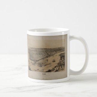 Birds' eye view of New Orleans from 1851 Mugs