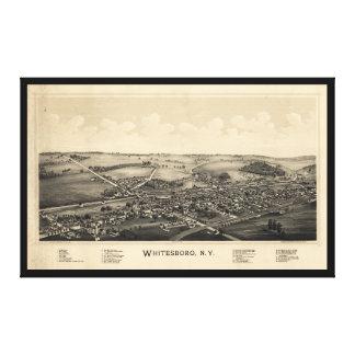 BIrd's Eye View of Whitesboro, New York (1891) Canvas Print