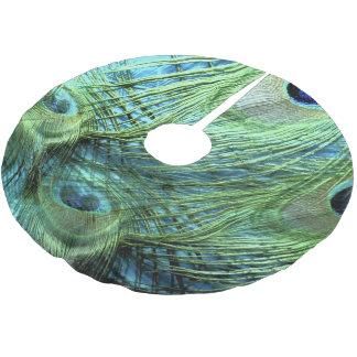 Bird's Eyes Brushed Polyester Tree Skirt