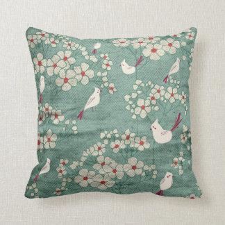 Birds & Flowers American MoJo Pillows