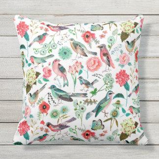 Birds & Flowers | Spring Summer | Pillow