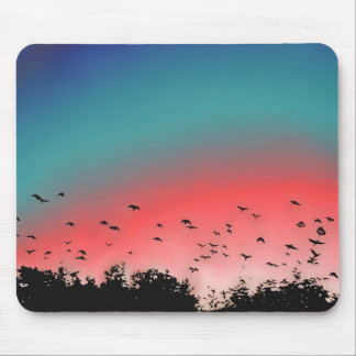 Birds Flying High Mouse Pad