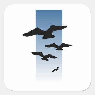 Birds Flying Sticker