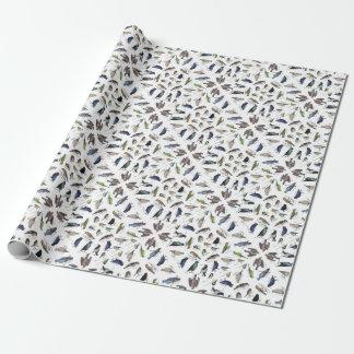 Birds garden wrapping paper