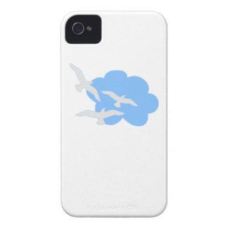 Birds In A Cloud iPhone4 Case