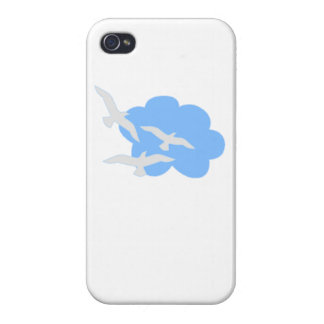 Birds In A Cloud iPhone 4 Covers