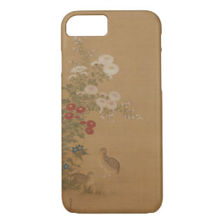 Birds in Autumn - based on Chinese Woodblock iPhone 8/7 Case