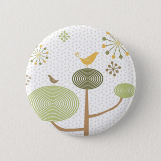 Birds In Love Design 3 Botton1 6 Cm Round Badge
