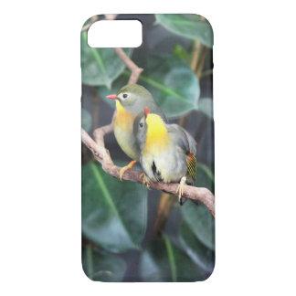 Birds in love phone case