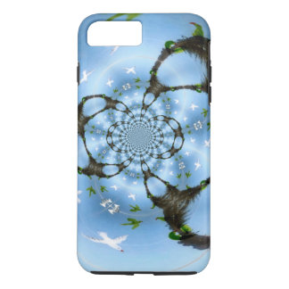 Birds in Paradise abstract photograph iPhone 7 Plus Case