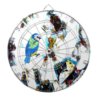 Birds Life by RT Mop Dartboard