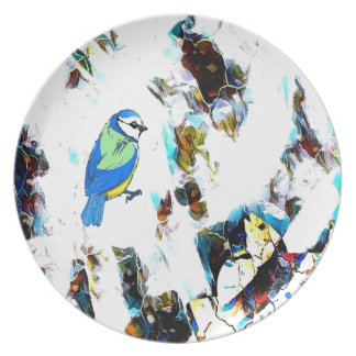 Birds Life by RT Mop Plate