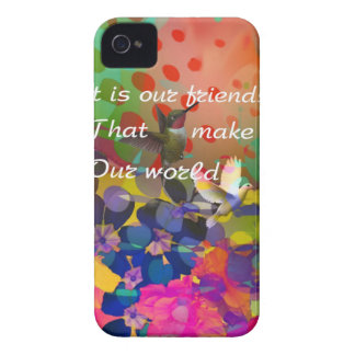 Birds like friends make our world iPhone 4 Case-Mate cases
